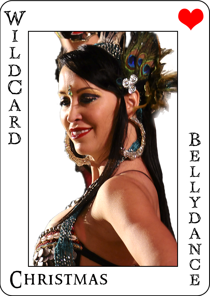 Christmas - The Newest member of WildCard BellyDance