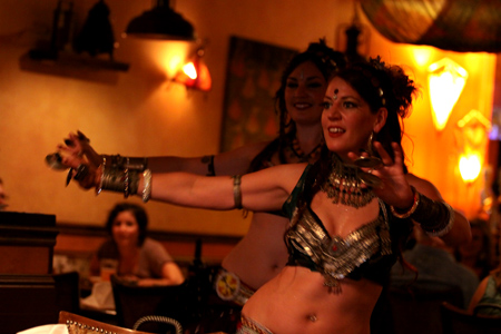 WildCard BellyDance at Sizzling Tandoor in Santa Rosa