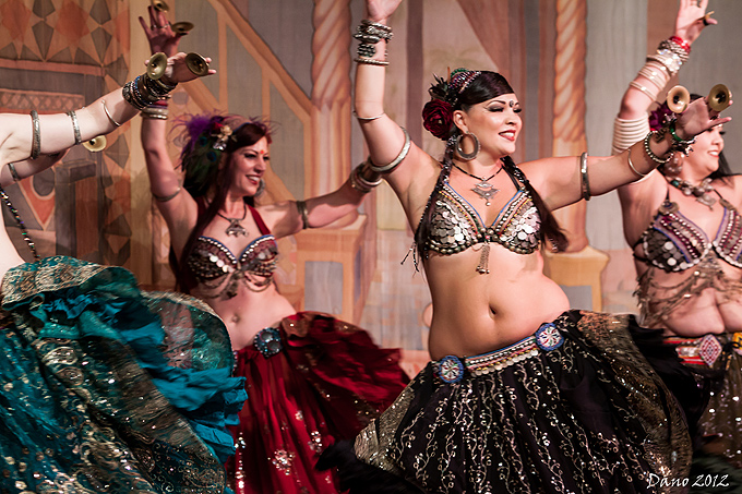 WildCard BellyDance at Tribal Fest 2012