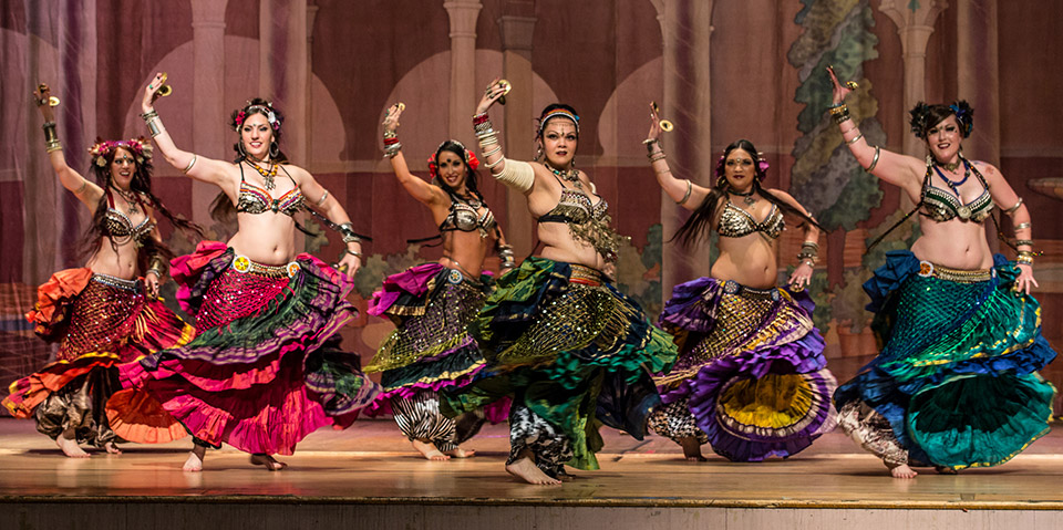 WildCard BellyDance at Rakkasah West