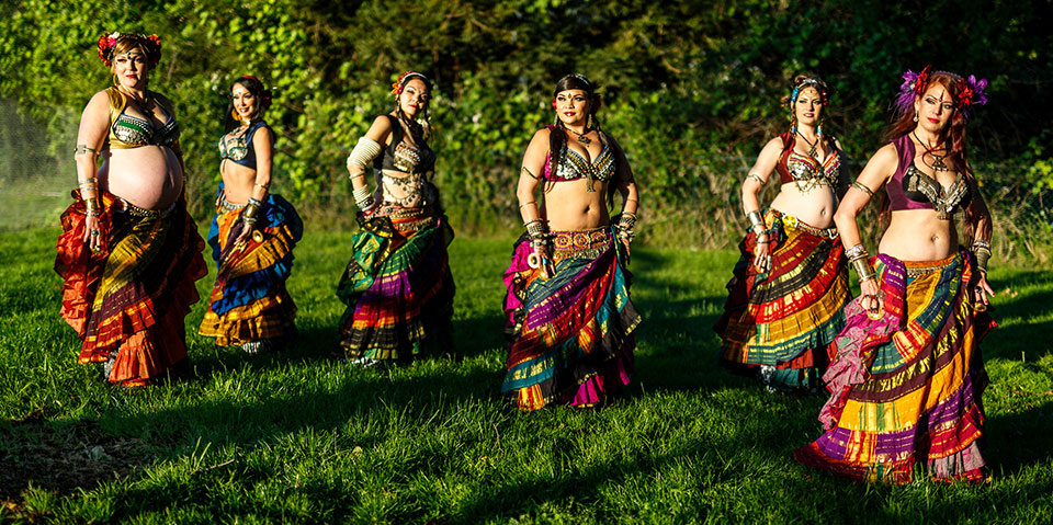 WildCard BellyDance - photo by Dano Blanchard